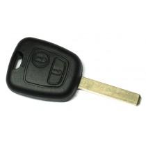 Obal kľúča, holokľúč pre Citroen C3 dvojtlačítkový