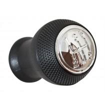 Hlavica radiacej páky Mazda Premacy I, 5 stupňová, čierna, lesklý chrom