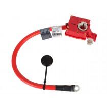 Plusovy kábel, pyrotechnická poistka akumulátora, batérie BMW rad X1, E84 08 - 15
