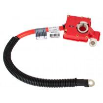 Plusovy kábel, pyrotechnická poistka akumulátora, batérie BMW rad X6 E71, 08-14