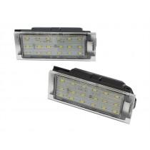 LED Osvetlenie ŠPZ Renault Vel Satis