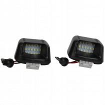 LED Osvetlenie ŠPZ Nissan Navara D40