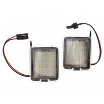LED svetlo, podsvietenie spätného zrkadla, ľavé a pravé, Ford Mondeo Mk4