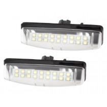 LED Osvetlenie ŠPZ Toyota Avensis Verso