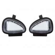 LED svetlo, podsvietenie spätného zrkadla, ľavé a pravé, VW Golf VI