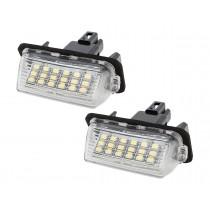 LED Osvetlenie ŠPZ Toyota Auris E15 FL