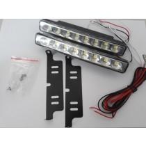 LED Denné osvetlenie DRL 08, 8 LED diod, SMD5050,