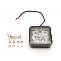 LED Pracovné svetlo 27W, štvorcové
