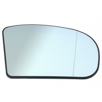 Spätné zrkadlo, vyhrievané sklo biele pravé  Mercedes W203 C-trieda 00-07