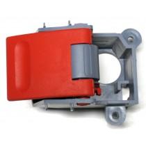 Kľučka dverí vnútorná pravá VW LT, červená