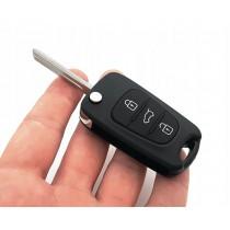Obal kľúča, holokľúč pre Hyundai i10, trojtlačítkový