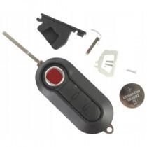 Obal kľúča, holokľúč pre Fiat Linea, trojtlačítkový