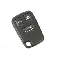 Obal kľúča, holokľúč pre Volvo XC70, trojtlačítkový