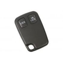 Obal kľúča, holokľúč pre Volvo 480, dvojtlačítkový