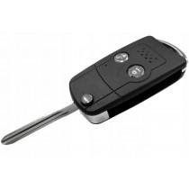 Obal kľúča, holokľúč pre Toyota IQ, dvojtlačítkový