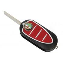 Obal kľúča, holokľúč pre Alfa Romeo 159, trojtlačítkový