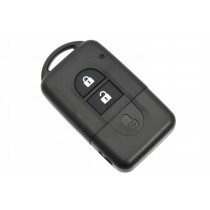 Obal kľúča, holokľúč pre Nissan Juke, dvojtlačítkový