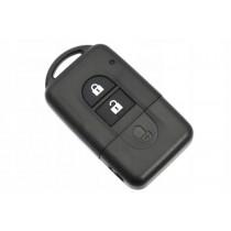 Obal kľúča, holokľúč pre Nissan Navara D40, dvojtlačítkový