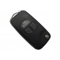 Obal kľúča, holokľúč pre Suzuki Splash, dvojtlačítkový