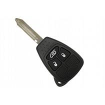 Obal kľúča, holokľúč pre Jeep Compass, 3 tlačítkový