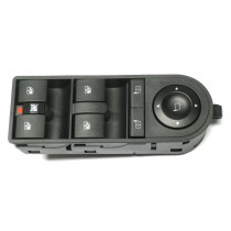 Ovládaci panel vypínač sťahovania okien Opel Astra III H, 13228877, 13228699
