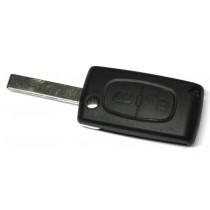 Obal kľúča, holokľúč pre Citroen C4