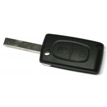 Obal kľúča, holokľúč pre Citroen C3
