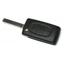 Obal kľúča, holokľúč pre Citroen C4 trojtlačítkový