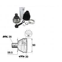 Sada kĺbov hnacieho hriadeľa pre VW Jetta III, 1K0498099E
