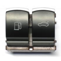 Ovládanie vypínač otvoru nádrže a kufrových dverí VW Passat CC, chrom