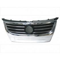 Predná maska chladiča pre Volkswagen Touran, rok výroby 2006 - 2010, predná strana