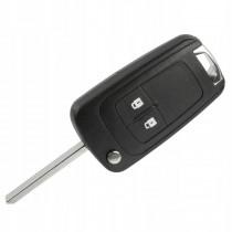 Obal kľúča, holokľúč pre Opel Corsa E, 2 tlačítkový