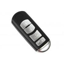 Obal kľúča, holokľúč pre Mazda MPV, 4 tlačítkový