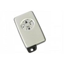Obal kľúča, holokľúč pre Toyota Auris, 4 tlačítkový