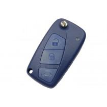 Obal kľúča, holokľúč pre Fiat Freemont, trojtlačítkový