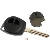 Obal kľúča, holokľúč pre Suzuki SX4, dvojtlačítkový