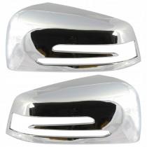 Okrasný chrómový kryt spätných zrkadiel, ľavý a pravý Mercedes W216 CL-Trieda