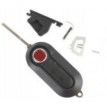 Obal kľúča, holokľúč pre Fiat Ducato, trojtlačítkový