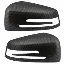 Kryt spätného zrkadla, ľavý a pravý Mercedes W216 CL-Trieda, čierna farba