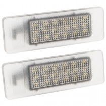 LED Osvetlenie ŠPZ 2 ks Nissan NV200 6340A5
