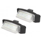 LED Osvetlenie ŠPZ  Mitsubishi Lancer X